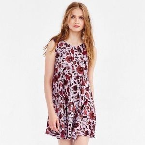 Urban Outfitters Ecote Clary Godet Trapeze Dress